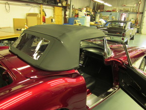 Ed's Auto Interiors - Convertible Tops